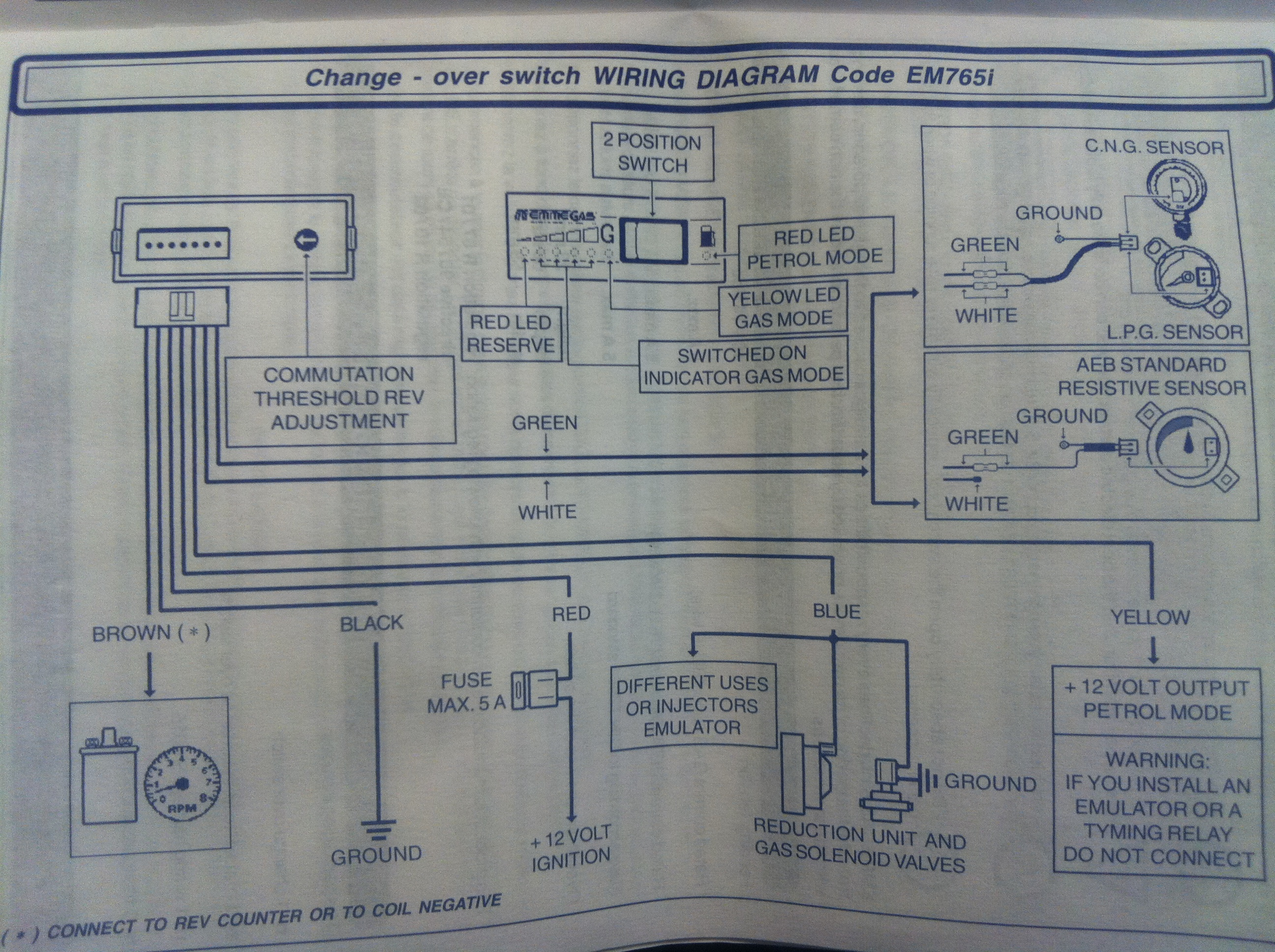 EM765i diagram_enl em765i change over switch emmegas \u2015 vlandgas lpg changeover switch wiring diagram at soozxer.org